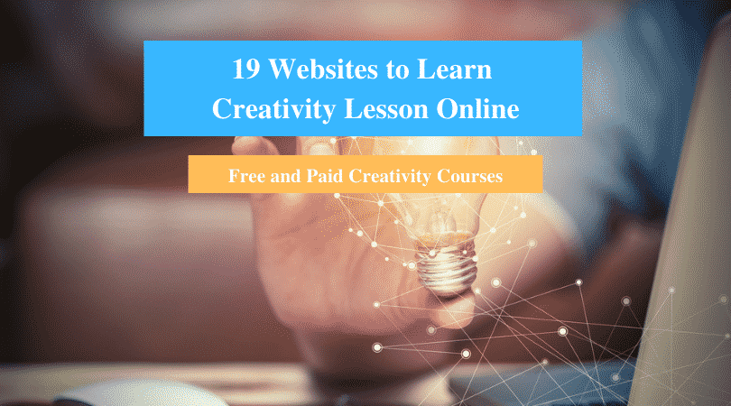 Learn Creativity Lesson Online