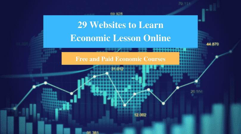 Learn Economic Lesson Online