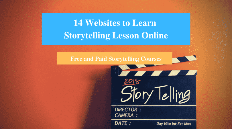 Learn Storytelling Lesson Online