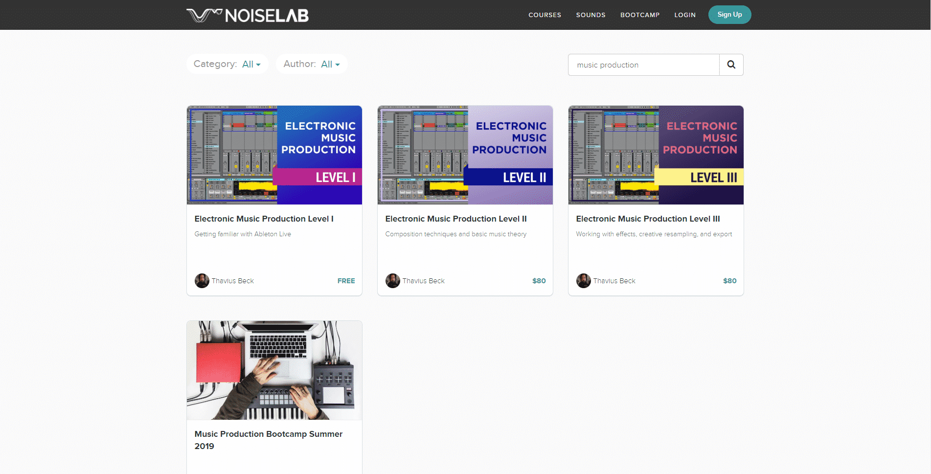 Noiselab – Online Music Production Lessons