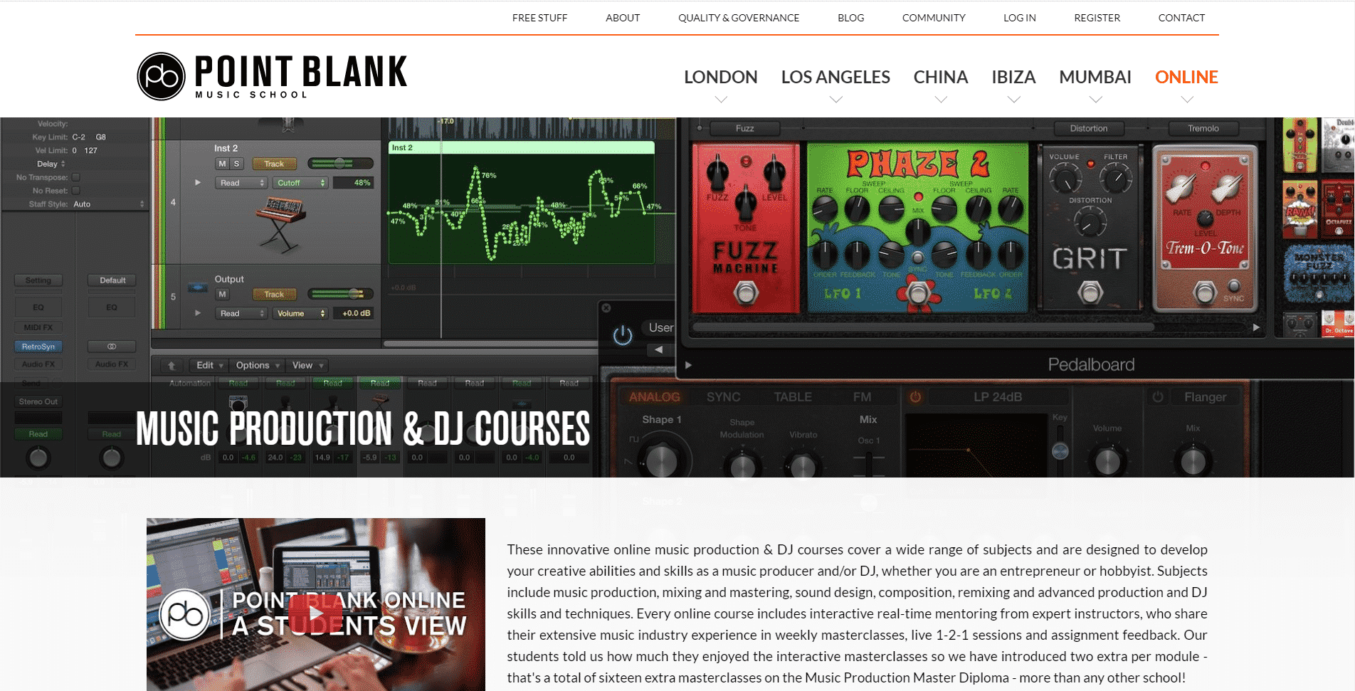 Pointblank Music School