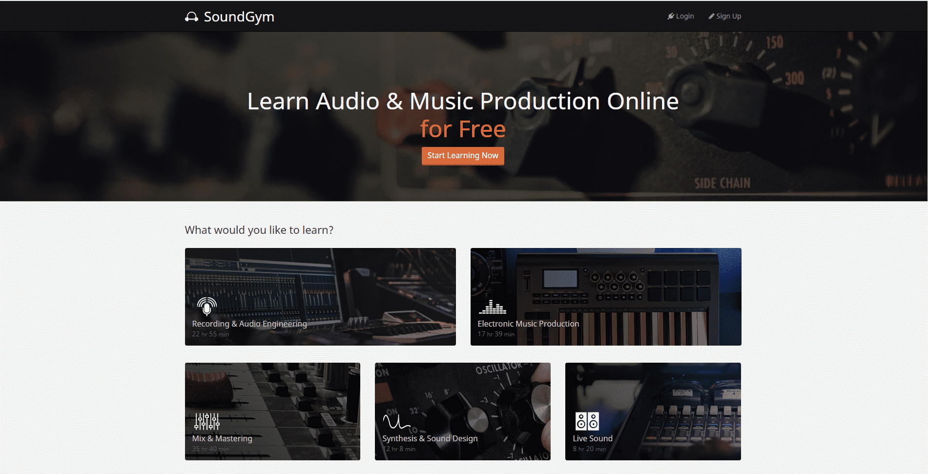 SoundGym – Online Music Production and Beatmaking