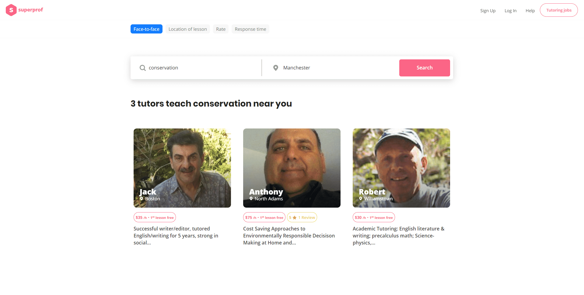 Superprof Learn Conservation Lessons Online