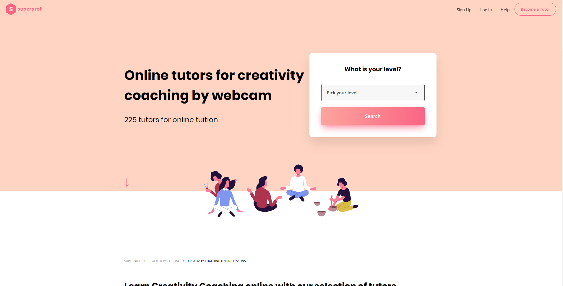 Superprof Learn Creativity Lessons Online