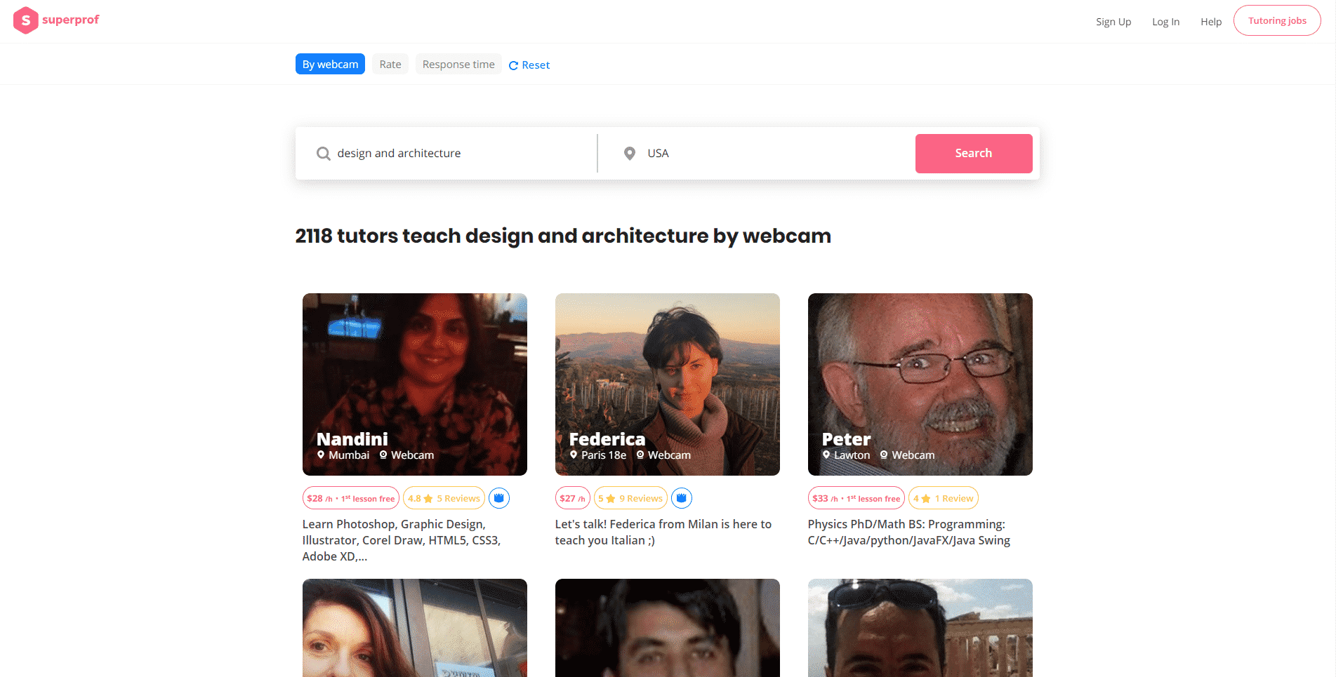 Superprof Learn Design and Architecture Lessons Online