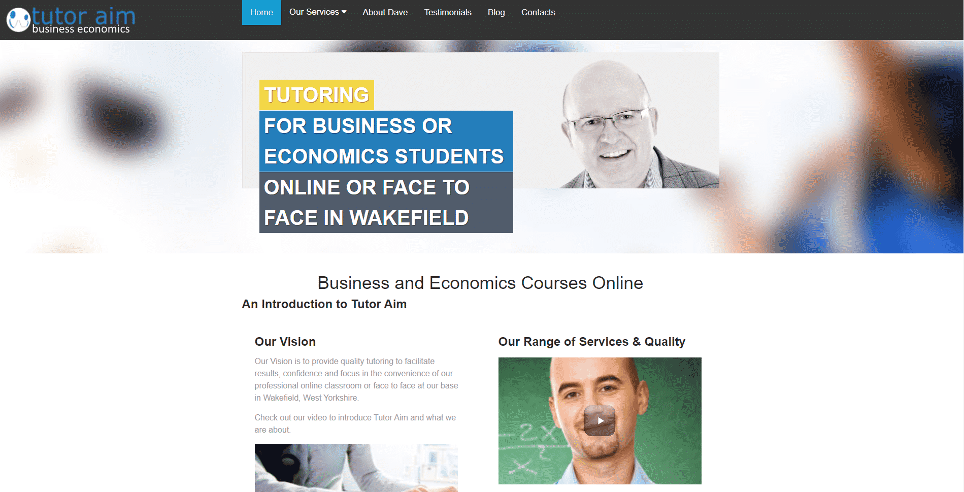 Tutor Aim Learn Economic Lessons Online