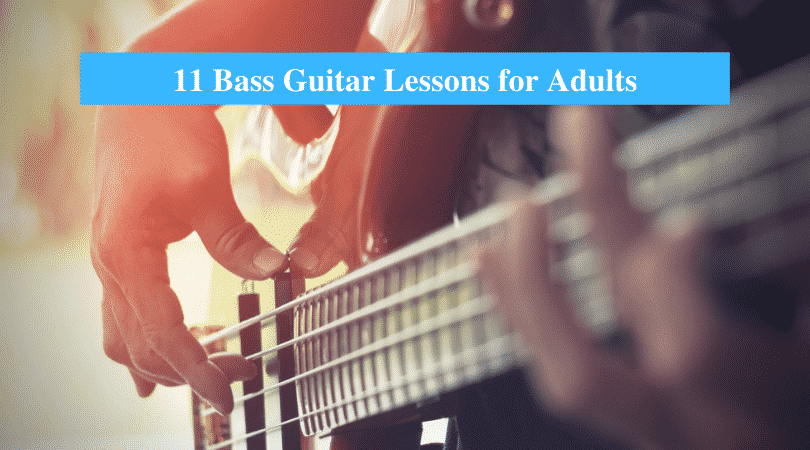 Best Bass Guitar Lessons for Adults