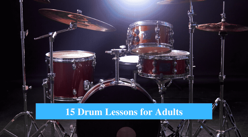 Drum Lessons for Adults