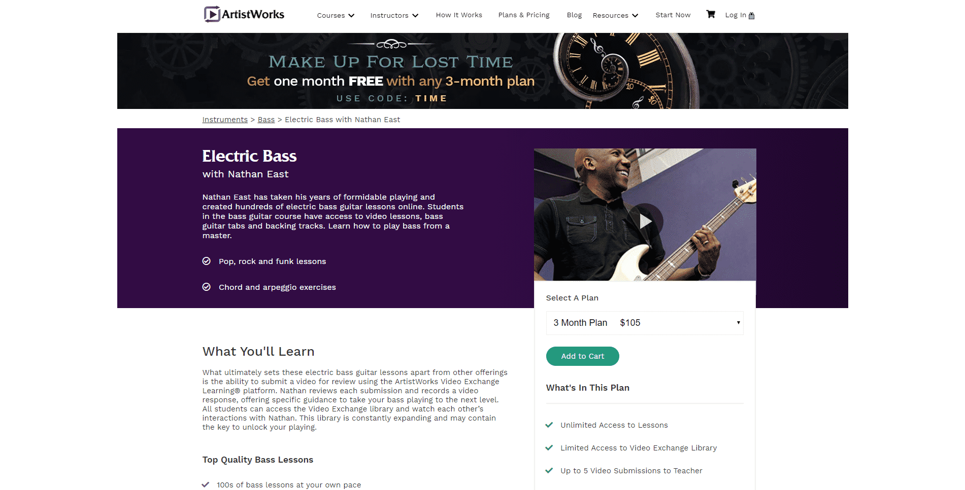 Electric Bass with Nathan East