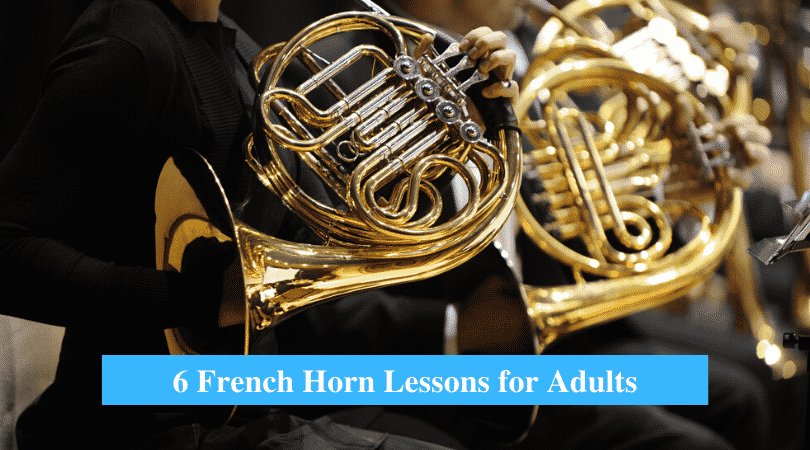 French Horn Lessons for Adults