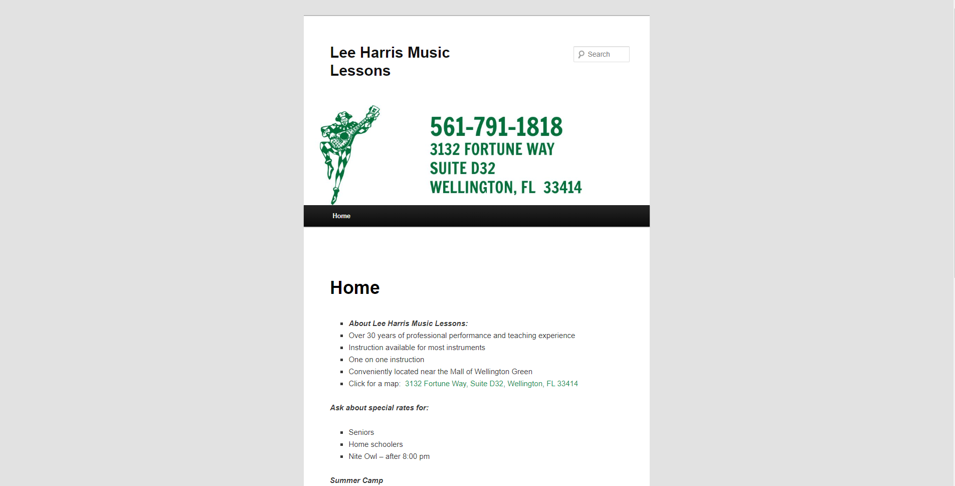 Lee Harris Music Lessons