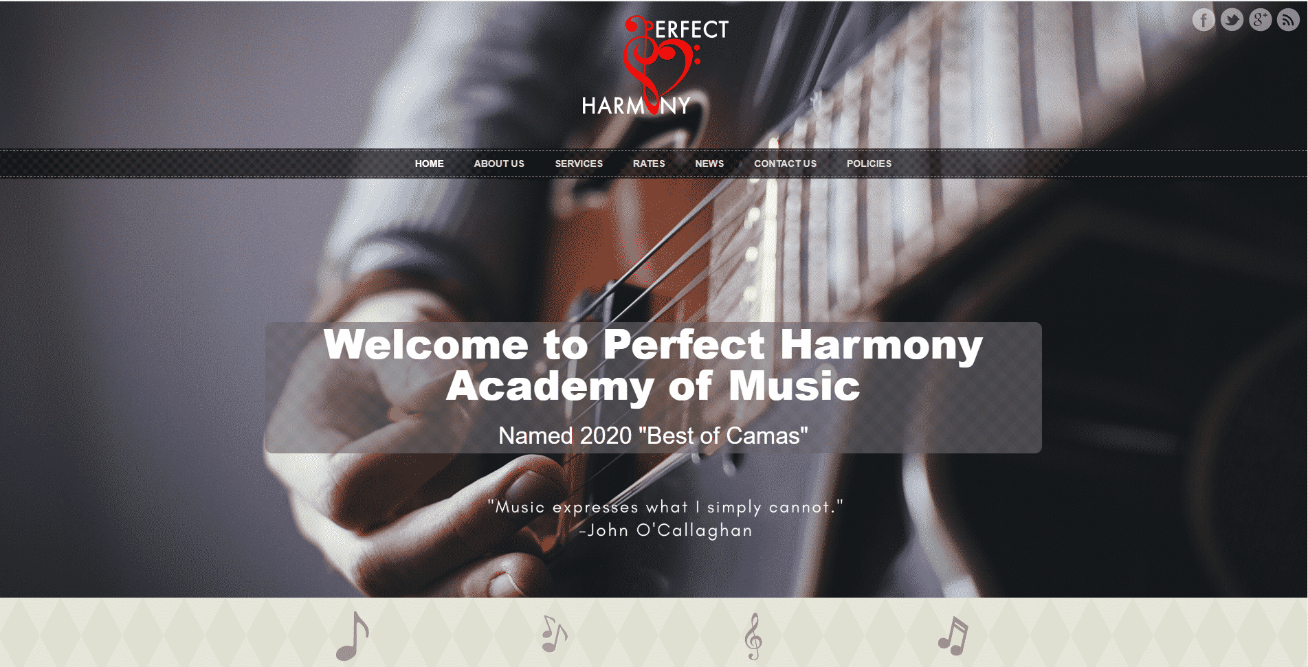 Perfect Harmony -- Camas Music Lessons