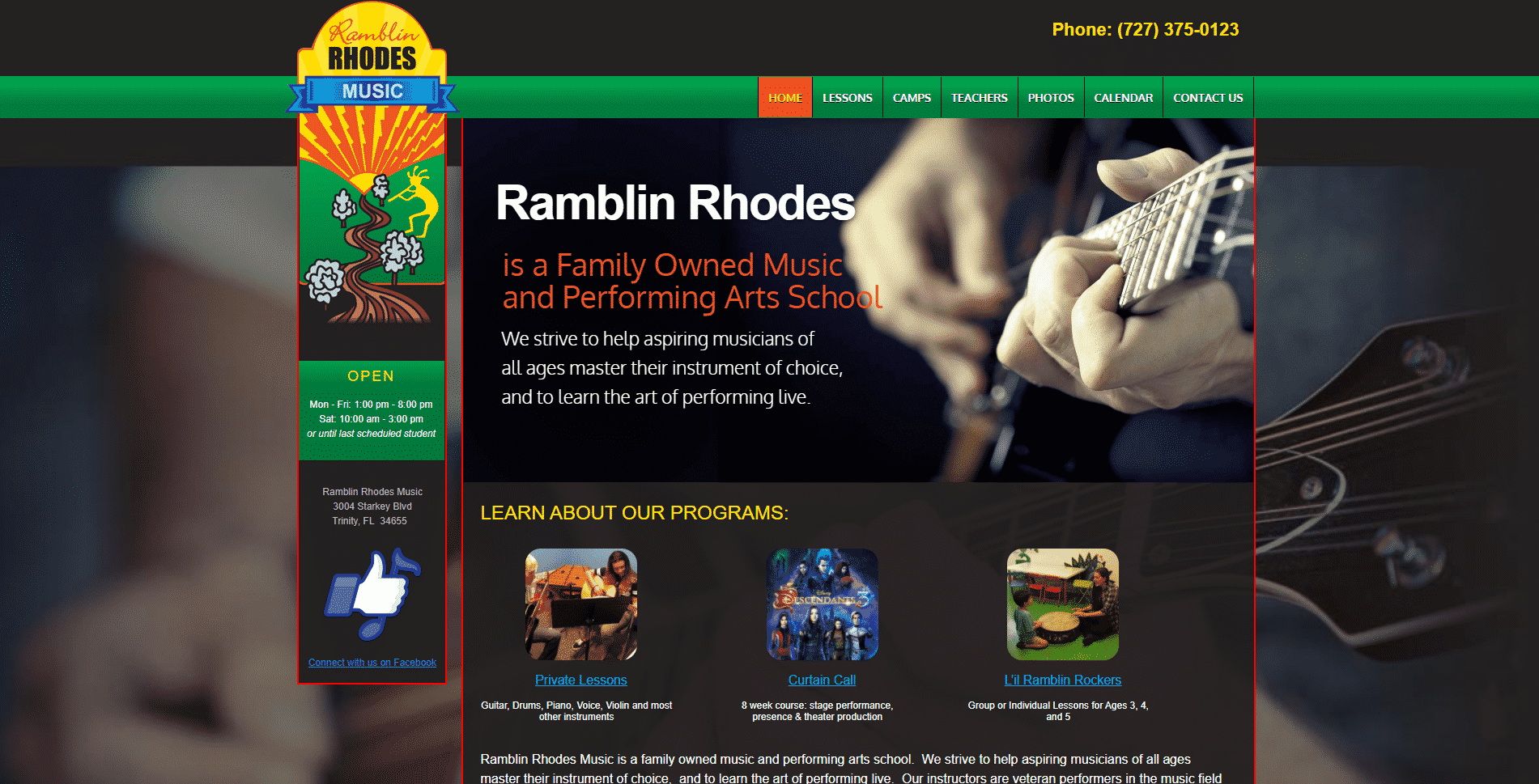 Ramblin Rhodes Music School
