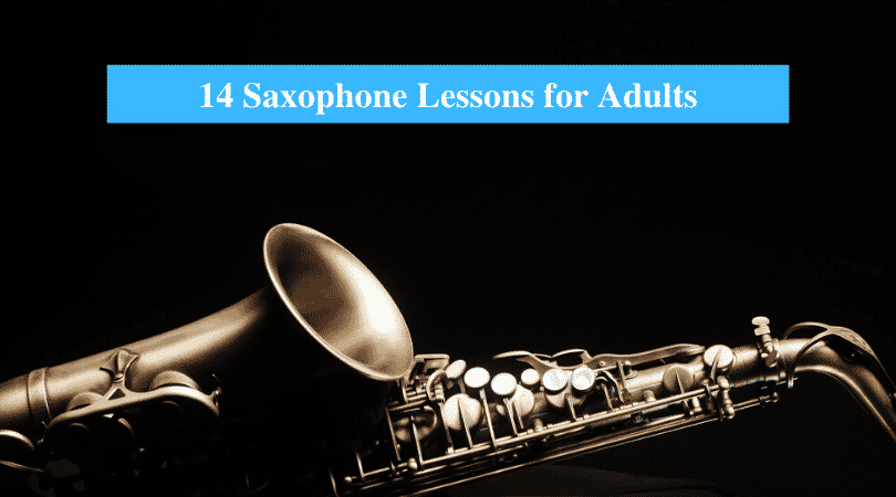Saxophone Lessons for Adults