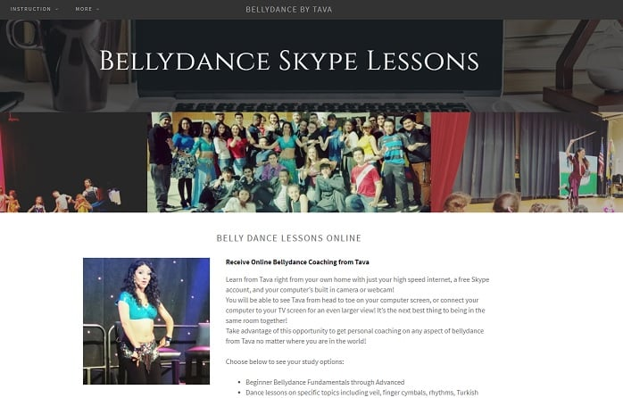 BellyDanceByTava Learn Belly Dance Lessons Online