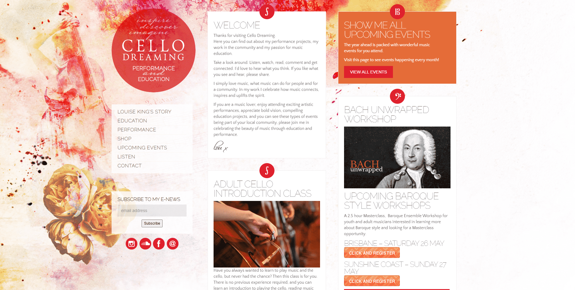 Cello lessons with Louise King Cello Lessons for Intermediate Online