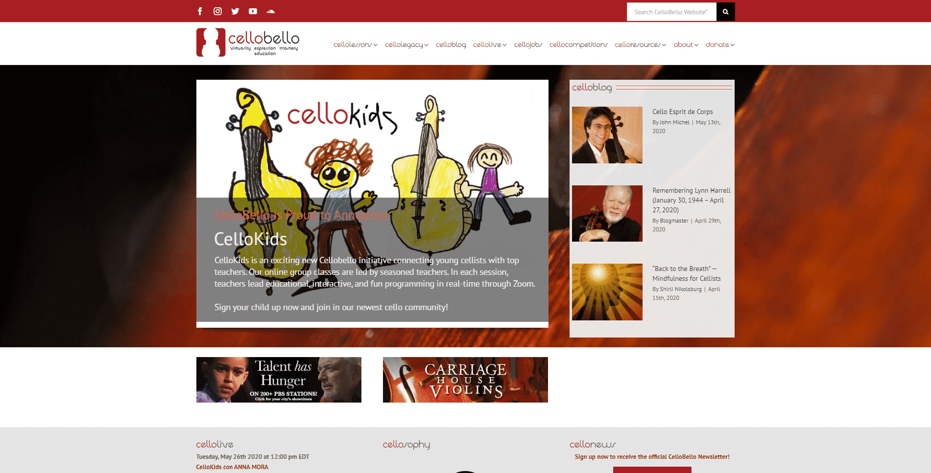 CelloBello Cello Lessons for Intermediate Online
