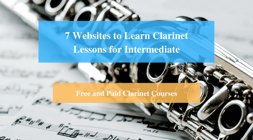 Learn Clarinet Lessons for Intermediate