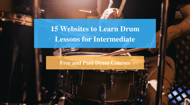 Learn Drum Lessons for Intermediate