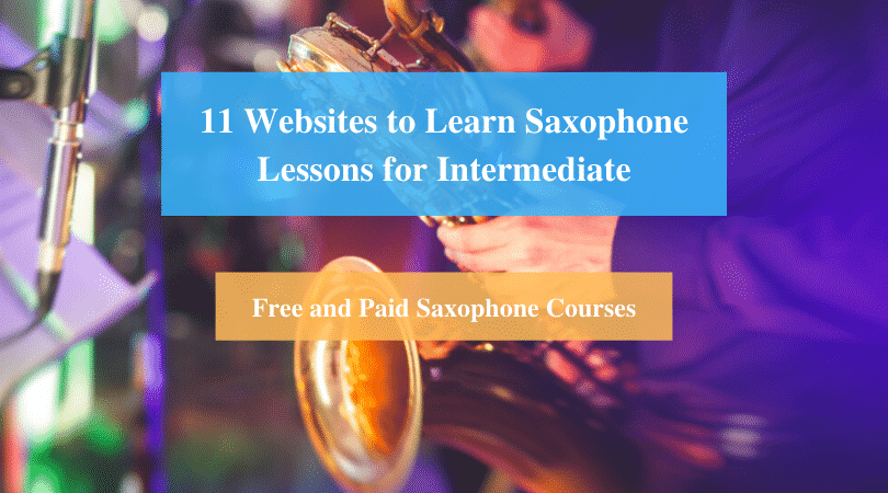 Learn Saxophone Lessons for Intermediate