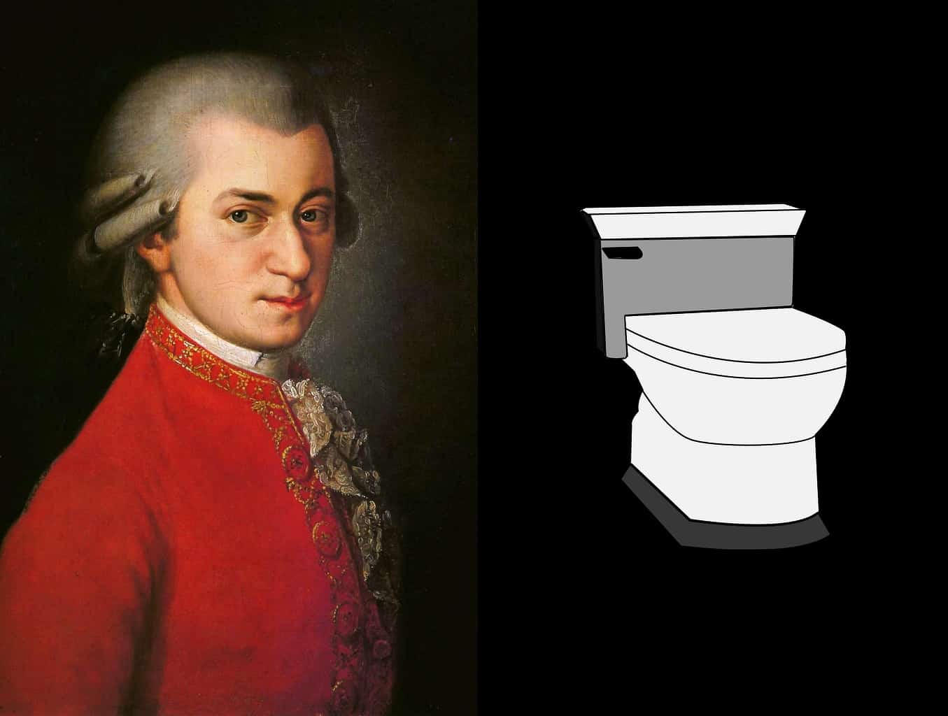 Mozart and Scatology