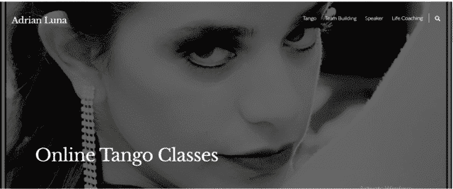 AdrianLunaCoach Learn Tango Lessons Online