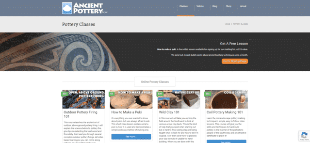 Ancientpotteryhow Learn Pottery Lessons Online