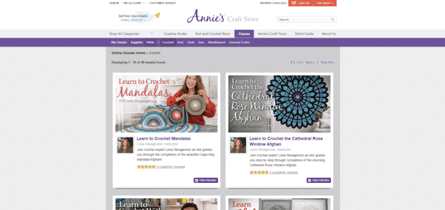 Anniescatalog Learn Crocheting Lessons Online