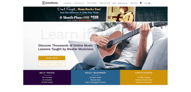 Artistworks Learn Music Lessons Online