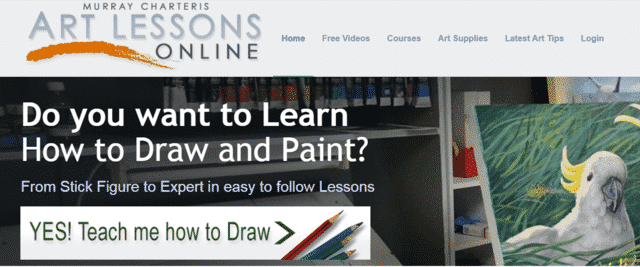 Artlessonsonline Learn Drawing Lessons Online