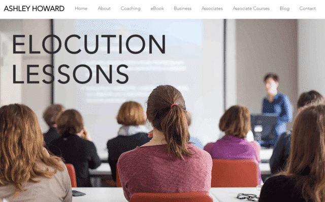 Ashleyhoward Learn Elocution Lessons Online