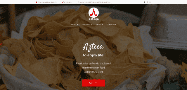 Azteca Learn Mexican Cooking Lessons Online