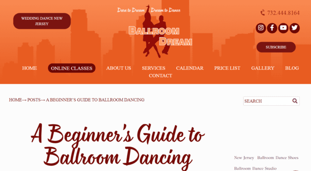 Ballroomdream Learn Ballroom Dance Lessons Online