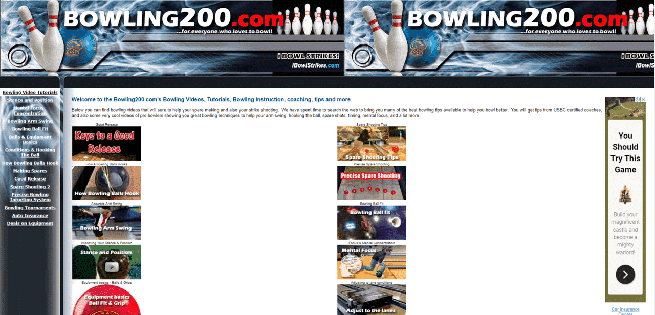 Bowling200 Learn Bowling Lessons Online