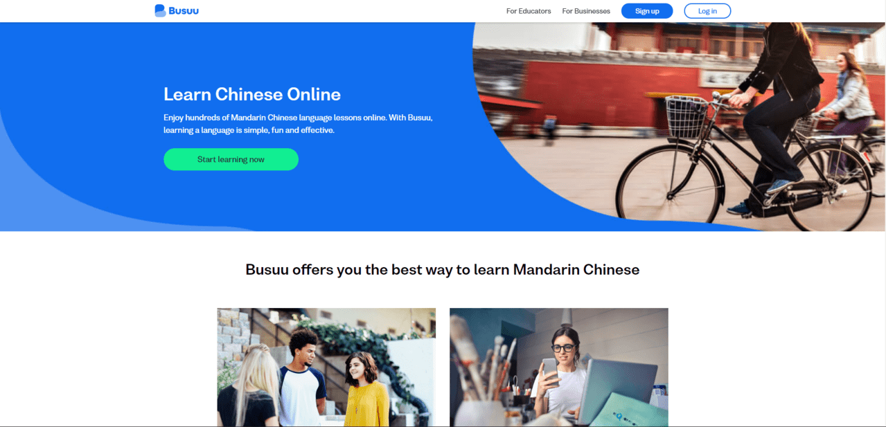 Busuu Learn Chinese Lessons Online