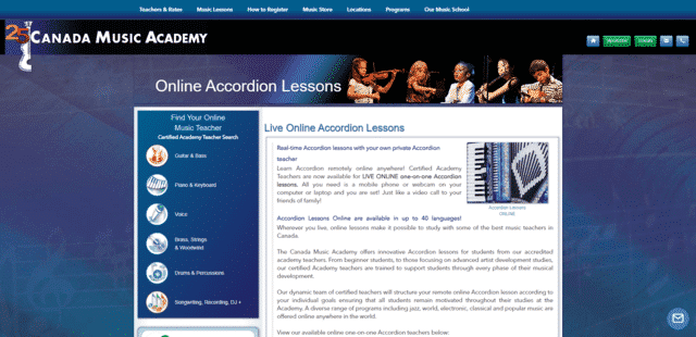 canadamusicacademy learn accordion lessons online