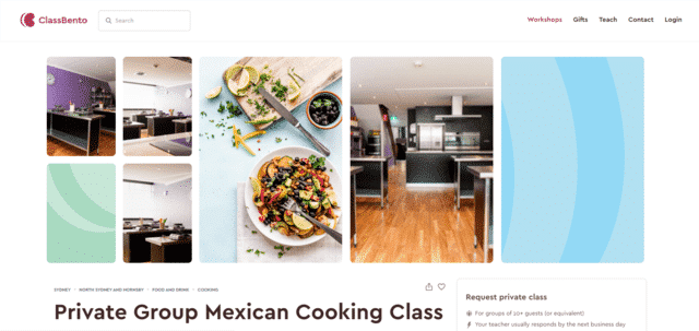 ClassBento Learn Mexican Cooking Lessons Online