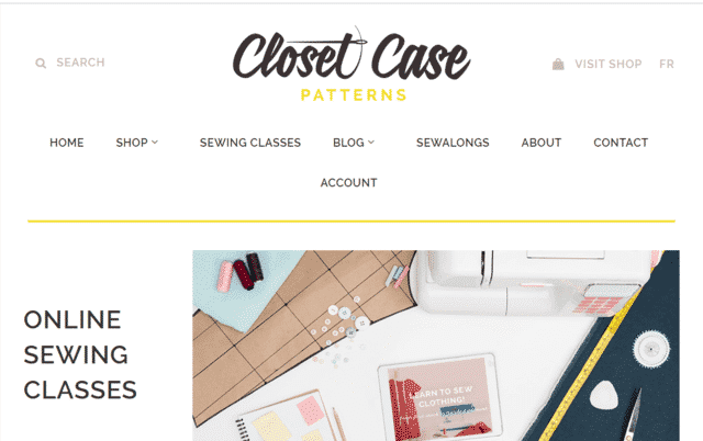 ClosetCasePatterns Learn Sewing Lessons Online