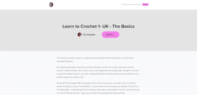 Coursecraft Learn Crocheting Lessons Online