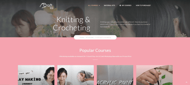 Craftla Learn Crocheting Lessons Online
