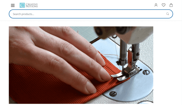 CreativeNotions Learn Sewing Lessons Online