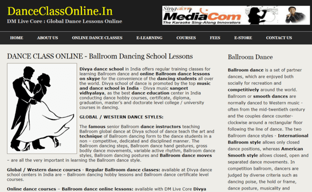 Danceclassonline Learn Ballroom Dance Lessons Online