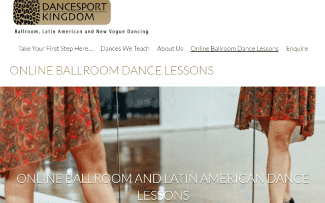 Dancesportkingdom Learn Ballroom Dance Lessons Online