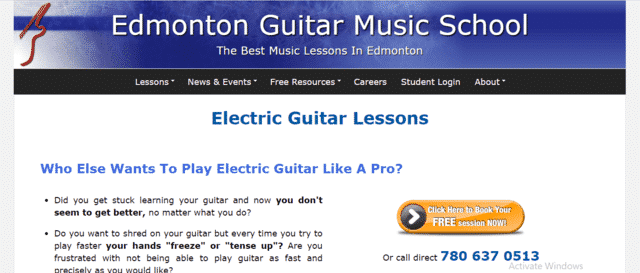 Edmontonguitar Learn Electric Guitar Lessons Online