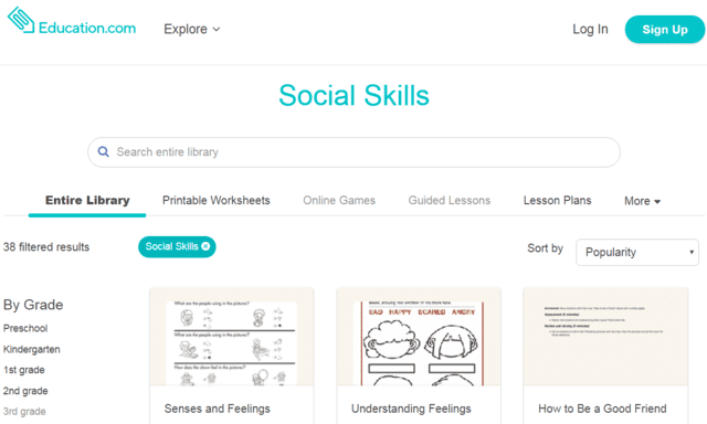 Education Learn Social Skills Lessons Online