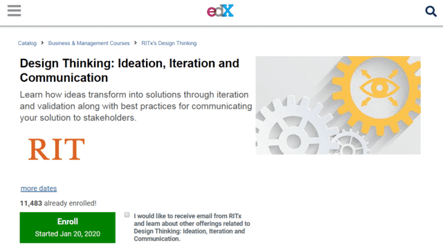 EDX Learn Thinking And Communication Lessons Online