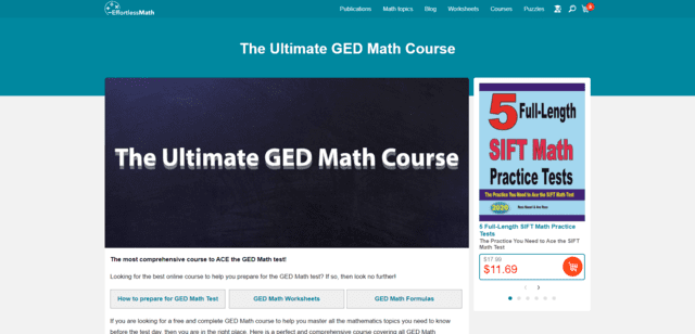Effortlessmath Learn GED Math Lessons Online