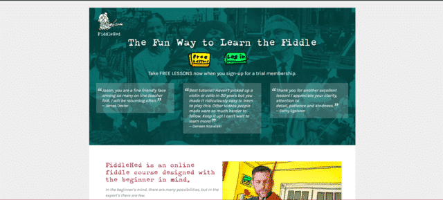 Fiddlehed Learn Fiddle Lessons Online