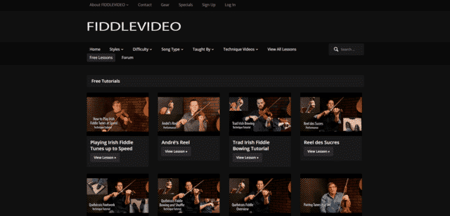 Fiddlevideo Learn Fiddle Lessons Online