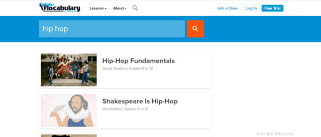 Flocabulary Learn Hip Hop Lessons Online